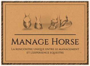 Logo Manage Horse formation management team building
